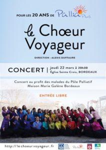 concert le Choeur Voyageur - Pallia Plus