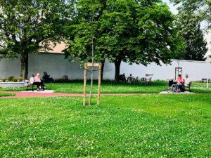 EHPAD Sainte Elisabeth - jardin